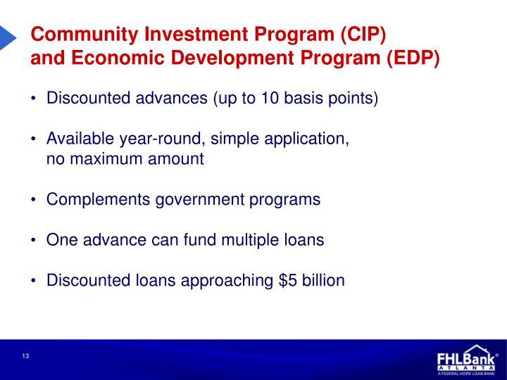 Community Investment Program (CIP)
