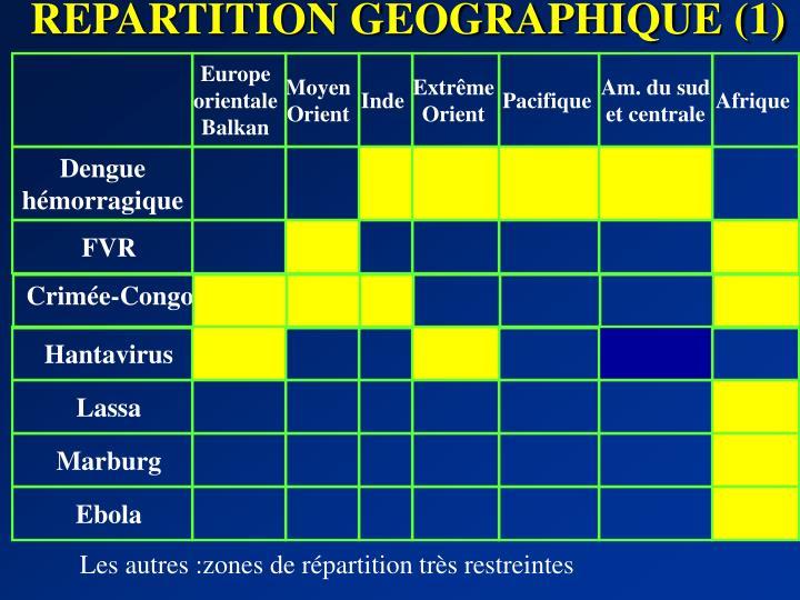 REPARTITION GEOGRAPHIQUE (1)