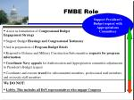fmbe role