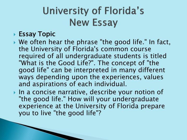 University of Florida's