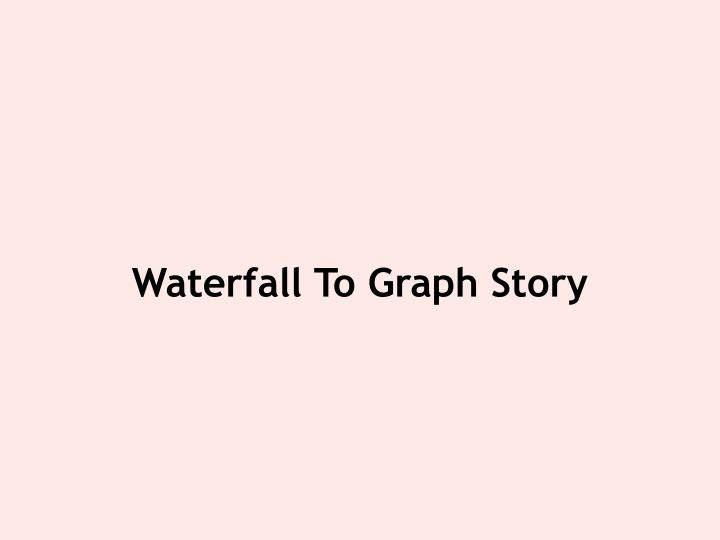 Waterfall To Graph Story
