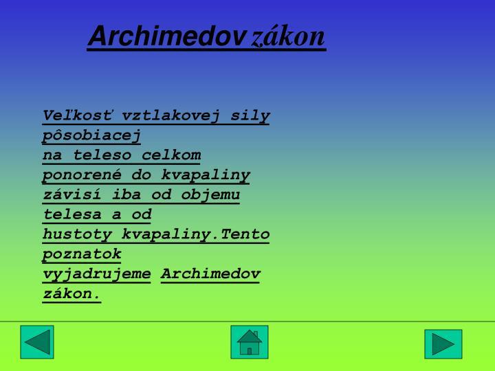 Archimedov