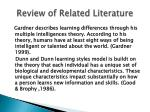review of related literature1