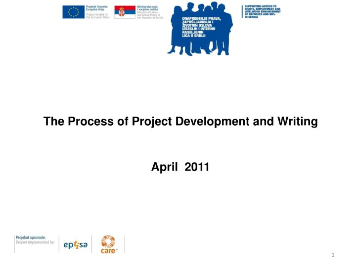 The Process of Project Development and Writing