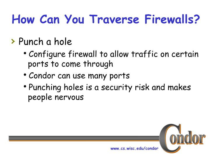 How Can You Traverse Firewalls?