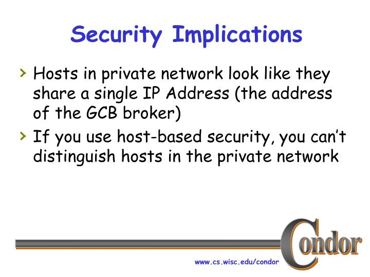 Security Implications