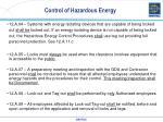 control of hazardous energy4