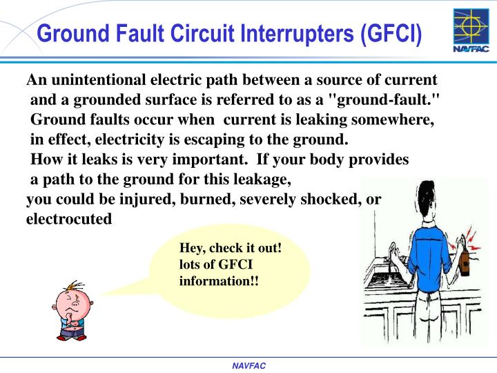 Ground Fault Circuit Interrupters (GFCI)