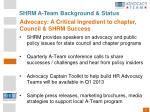 shrm a team background status14