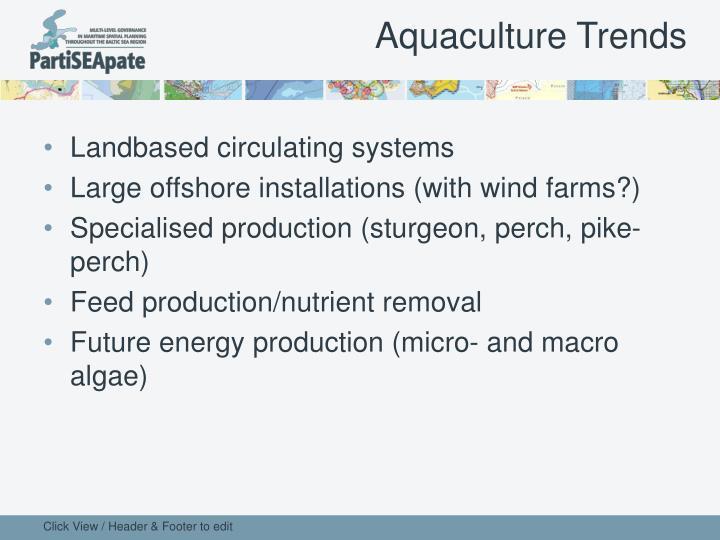 Aquaculture Trends
