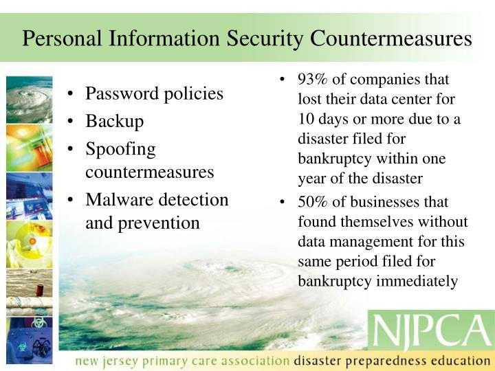 Personal Information Security Countermeasures