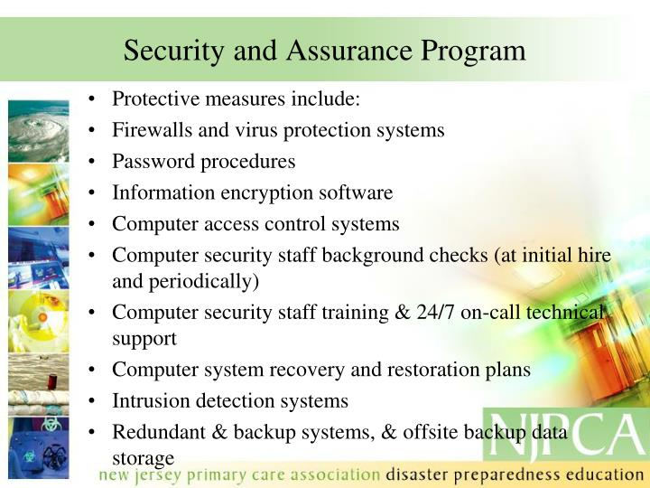 Security and Assurance Program