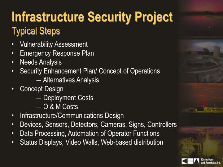 Infrastructure Security Project