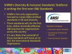 shrm s diversity inclusion standards taskforce is writing the first ever d i standards