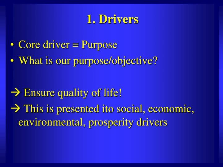 1. Drivers