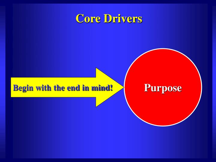 Core Drivers