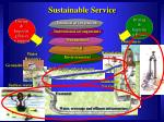 sustainable service