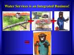 water services is an integrated business