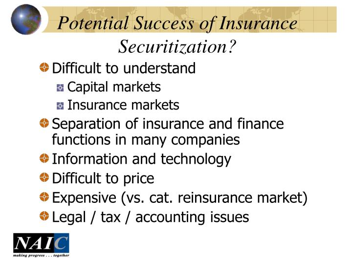 Potential Success of Insurance Securitization?