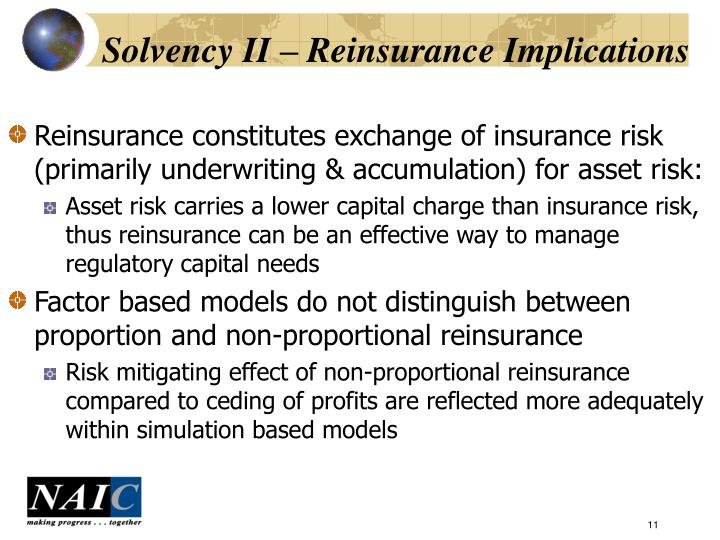 Solvency II – Reinsurance Implications
