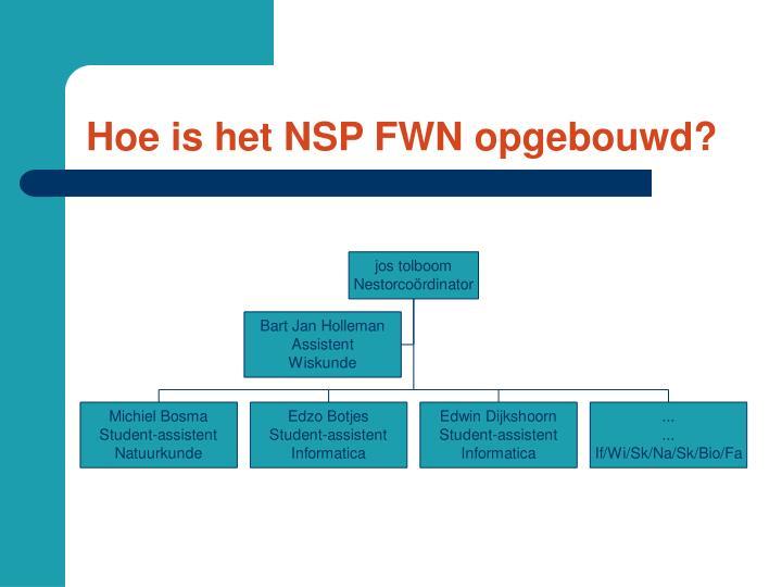 Hoe is het NSP