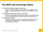 the bop and exchange rates2