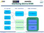interfacing gca to star