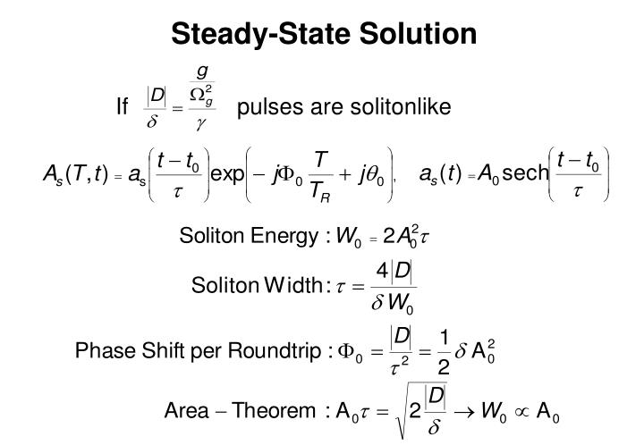 Steady-State Solution