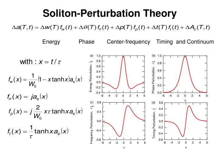 Soliton-Perturbation Theory