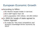 european economic growth