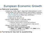 european economic growth1