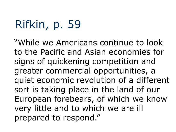 Rifkin, p. 59