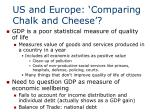 us and europe comparing chalk and cheese