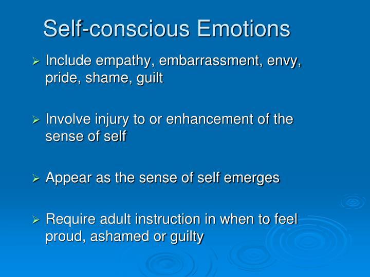 Self-conscious Emotions
