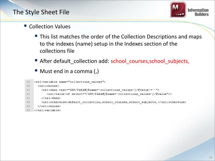 The Style Sheet File