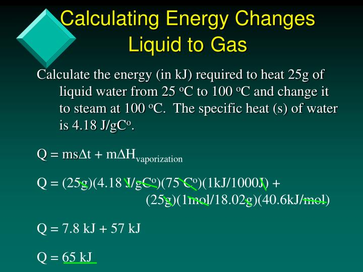 Calculating Energy Changes