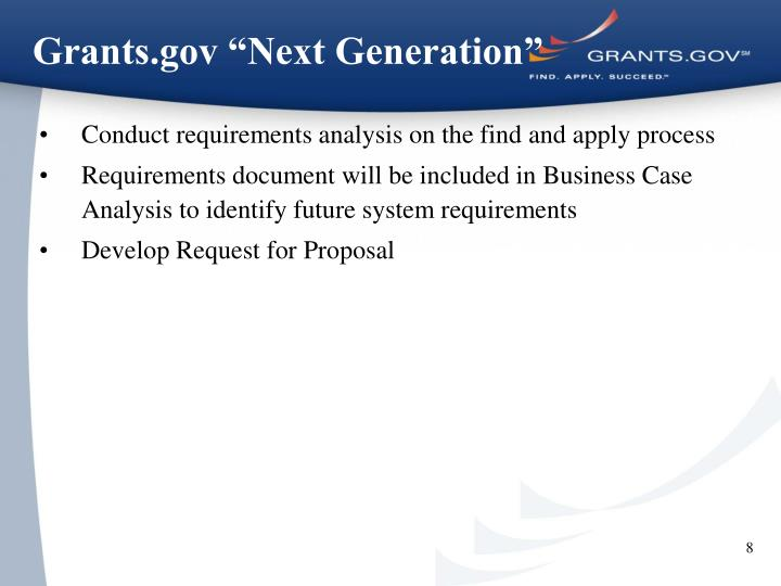 "Grants.gov ""Next Generation"""