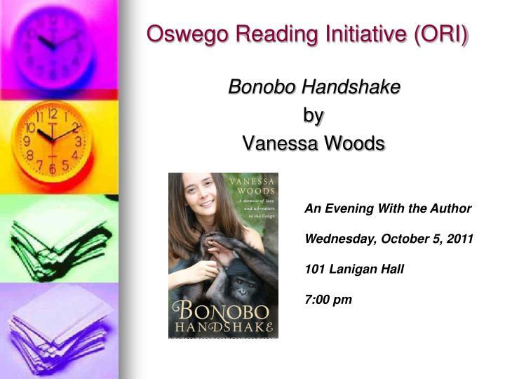 Oswego Reading Initiative (ORI)