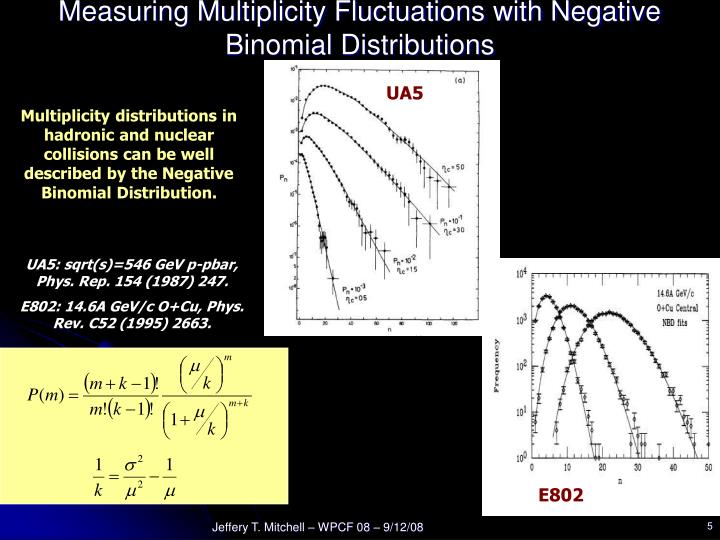 Measuring Multiplicity Fluctuations with Negative Binomial Distributions