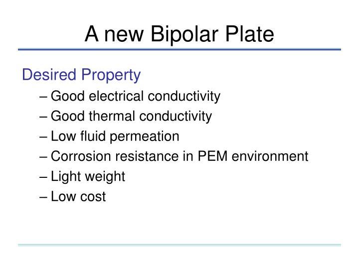 A new Bipolar Plate