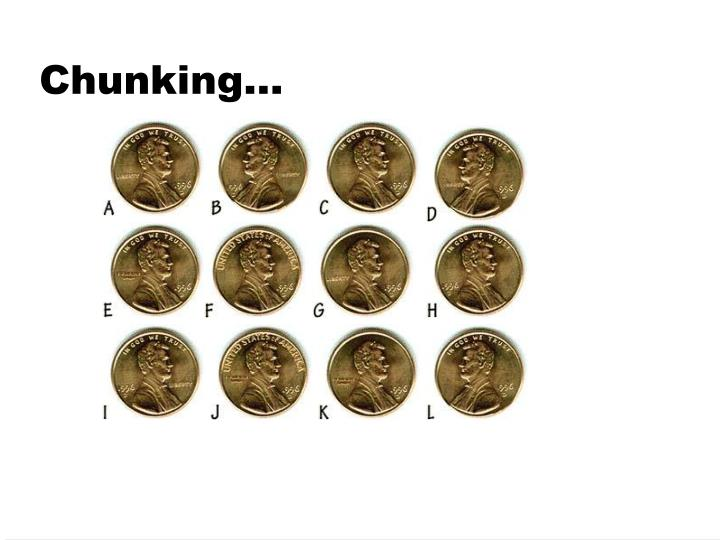 Chunking…