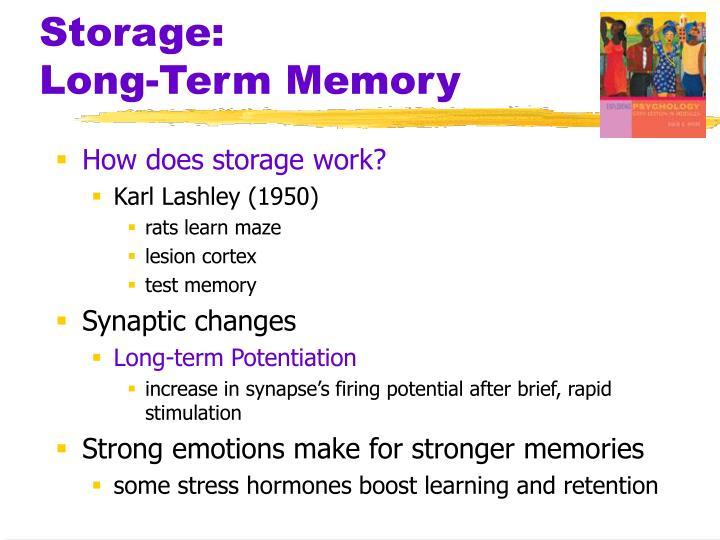 Storage: