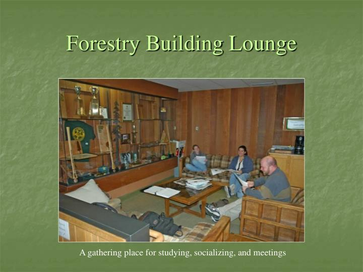 Forestry Building Lounge