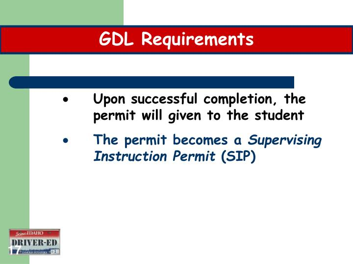 GDL Requirements