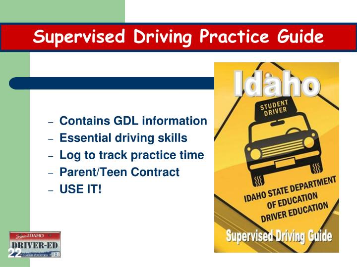 Supervised Driving Practice Guide