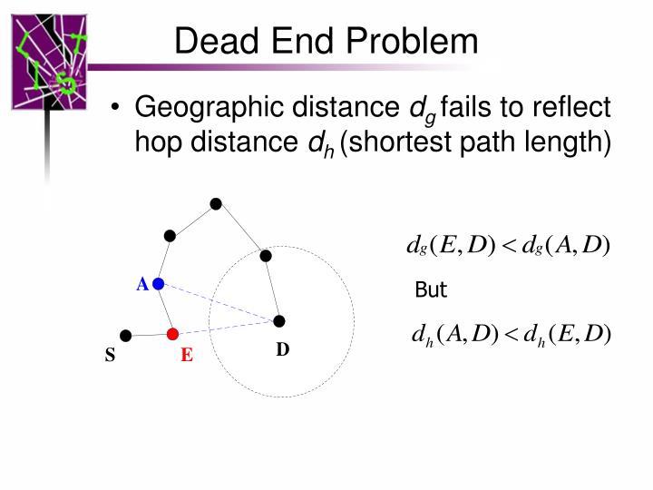 Dead End Problem