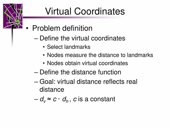 Virtual Coordinates
