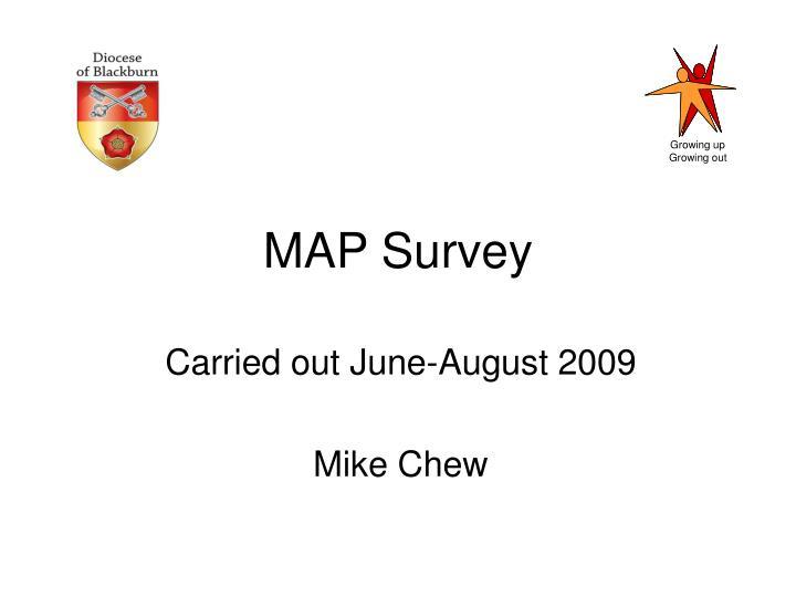 MAP Survey