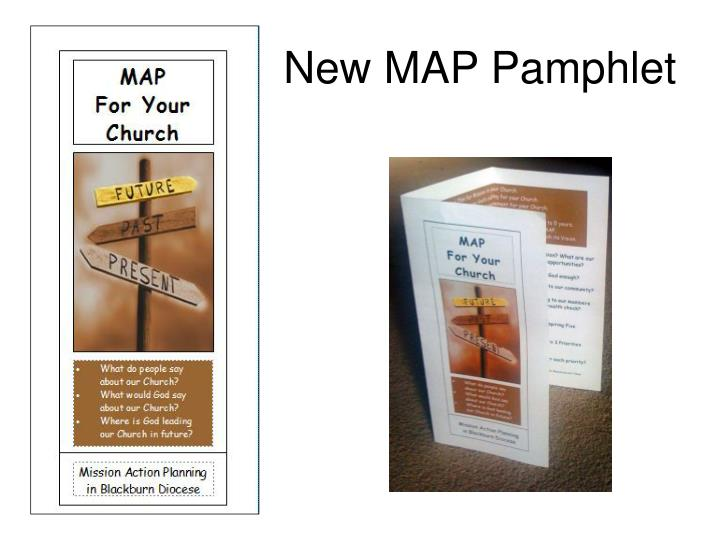 New MAP Pamphlet