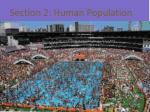 section 2 human population